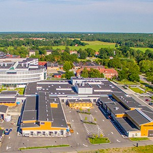 UDS and VHC from above. Aerial view.